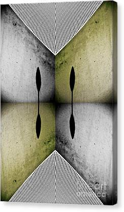 Earth Tones Canvas Print - Modern Abstract With An African Theme 2. by Emilio Lovisa