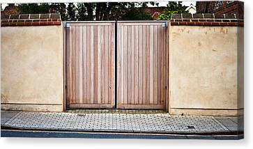 Modern Gate Canvas Print