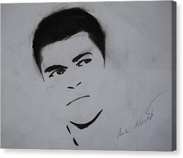 Mohammed Ali Canvas Print by Ahmed Mustafa
