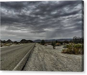 Mojave Hdr 003 Canvas Print by Lance Vaughn