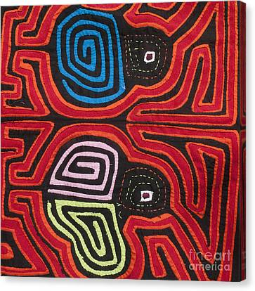 Mola Art 2 Canvas Print