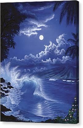 Molokai Moonlight Canvas Print