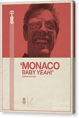 Monaco Baby Canvas Print