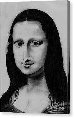 Monalisa Canvas Print
