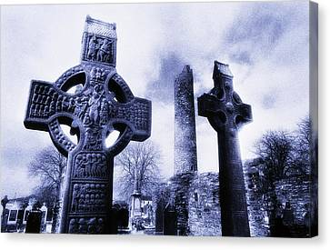 Monasterboice, Co Louth, Ireland Canvas Print by The Irish Image Collection