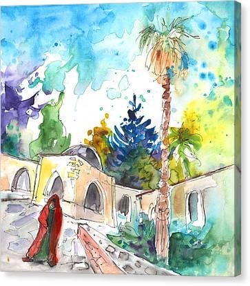 Monastery In Ayia Napa Canvas Print by Miki De Goodaboom