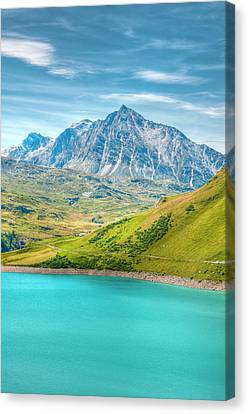 Moncenisio, Piedmont Canvas Print by Marco Maccarini