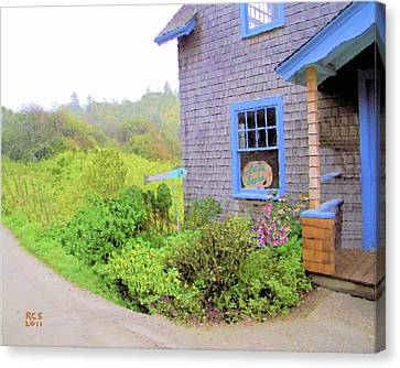 Monhegan Gallery Canvas Print by Richard Stevens