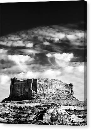 Monitor Butte Canvas Print