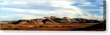 Mono Craters Panorama Canvas Print