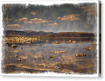 Mono Lake - Impressions Canvas Print by Ricky Barnard