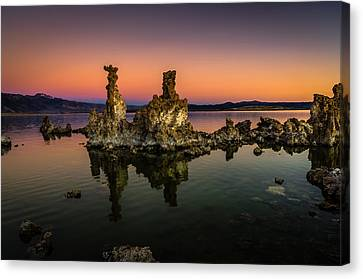 Mono Lake Tufa At Sunrise Canvas Print