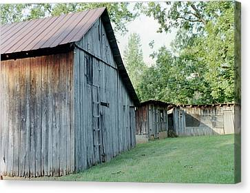 Monroe Barns Canvas Print