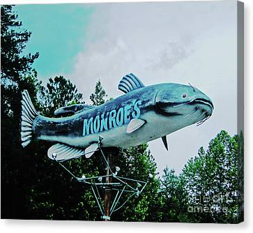Monroe's Catfish  Canvas Print by Lizi Beard-Ward