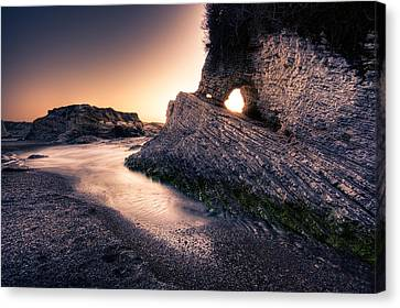 Montana De Oro After Sunset Canvas Print by Matt  Trimble
