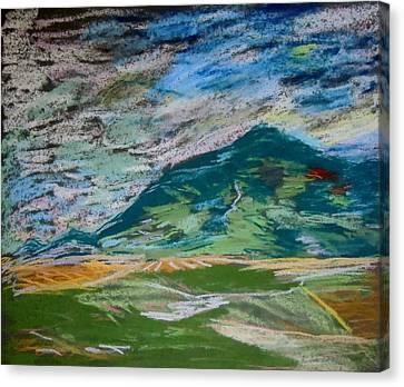 Montana Range Canvas Print