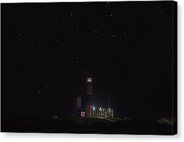 Montauk Starry Night Canvas Print by William Jobes