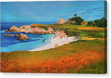 Monterey Peninsula Canvas Print