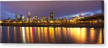 Montreal Panorama Canvas Print by Mircea Costina Photography