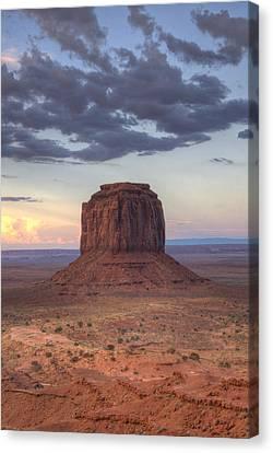Monument Valley - Merrick Butte Canvas Print by Saija  Lehtonen