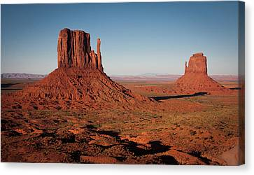 Monument Valley At Sunset Canvas Print by by Carlos Esteves TOP Photography