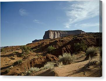 Monument Valley Morning Canvas Print by Wilma  Birdwell