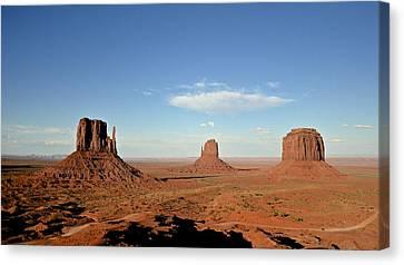 Monument Valley Canvas Print by Stefano Baldassini