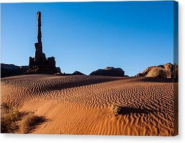 Monument Valley Three Canvas Print by Josh Whalen