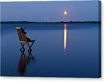 Canvas Print featuring the photograph Moon Boots by Gert Lavsen