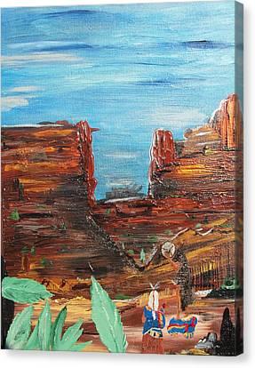 Moon Majik Canvas Print