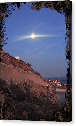 Moon Over Cabo Canvas Print