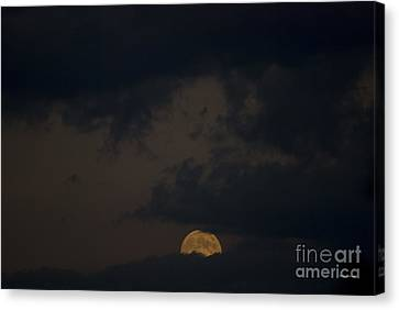 Moon Rising 03 Canvas Print by Thomas Woolworth