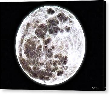 Moon Canvas Print by Stephen Younts