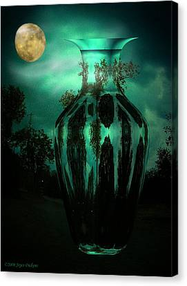 Moonglow Canvas Print by Joyce Dickens