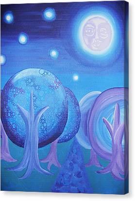 Moonlight Canvas Print by Nichole Williamson
