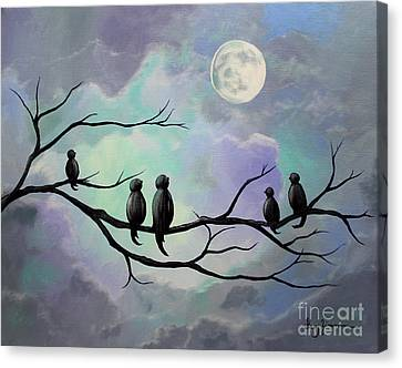 Moonlight Sonata Canvas Print by Stacey Zimmerman
