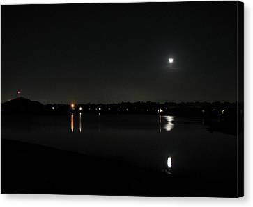 Canvas Print featuring the photograph Moonlight Tears by Bill Lucas