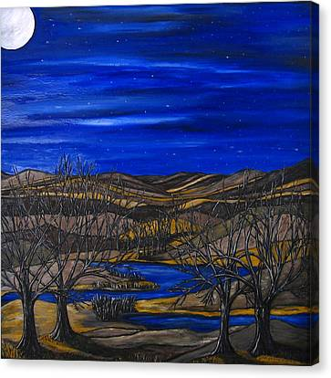 Moonlit Night Canvas Print