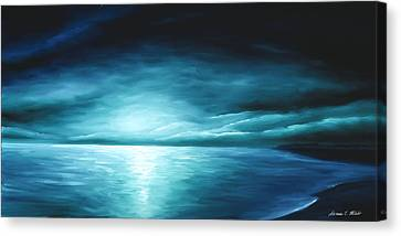 Moonrise II Canvas Print by James Christopher Hill