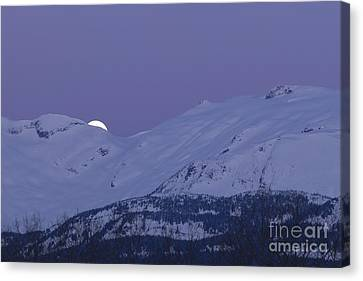 Moonset Canvas Print by Yuichi Takasaka