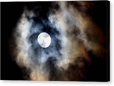 Moonshine Canvas Print by Karen Scovill