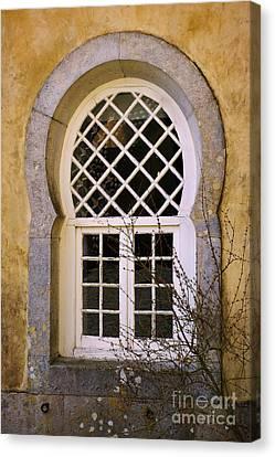 Moorish Window Canvas Print by Carlos Caetano
