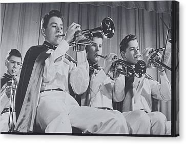 Mooseheart High School Band, 1950 Canvas Print