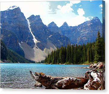 Moraine Lake Banff National Park Alberta Canvas Print