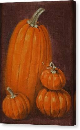 More Pumpkins Canvas Print