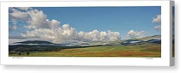 Moreno Valley Clouds Canvas Print