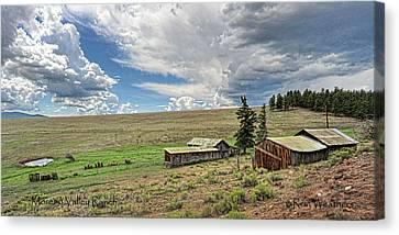 Moreno Valley Ranch Canvas Print