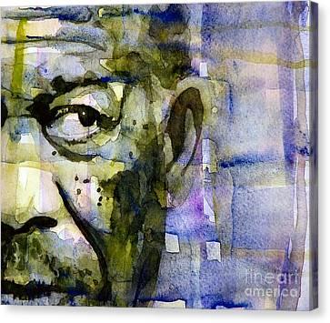 Morgan Canvas Print by Paul Lovering