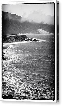 Morning Along The Coast Canvas Print by John Rizzuto