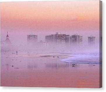 Morning At The Beach Canvas Print by Steve K